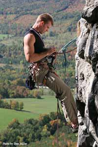 Rock Climber at Old Baldy