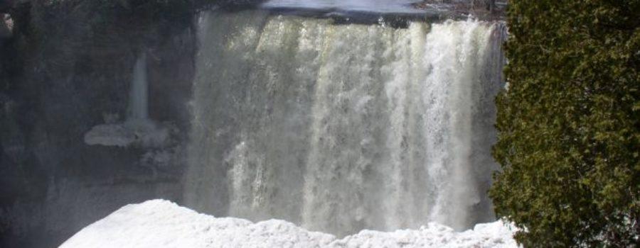 Inglis Falls Flooding April 2008
