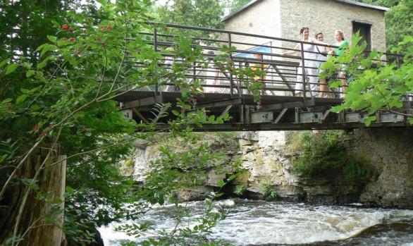 Inglis Falls Bailey Bridge