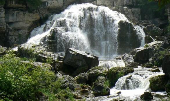 Inglis Falls Falls View Bottom