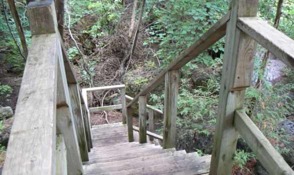 Inglis Falls Stairs