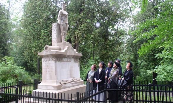 Eugenia Falls Cenotaph