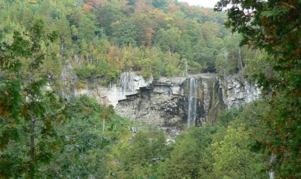 Eugenia Falls Fall