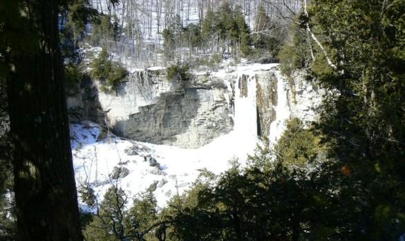 Eugenia Falls Frozen