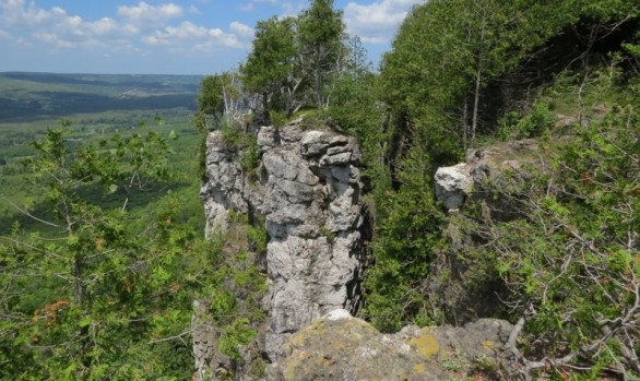 Old Baldy Escarpment