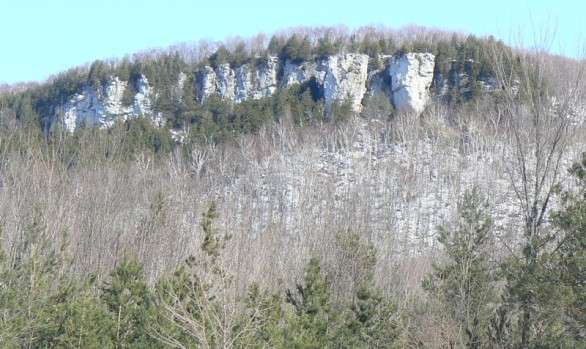 Old Baldy Rock Face
