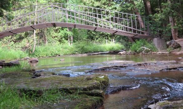 Pottawatomi Bridge to Falls