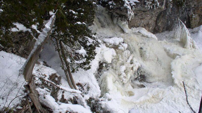 Pottawatomi Jones Falls Winter