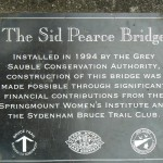 Pottawatomi Jones Plaque on Bridge