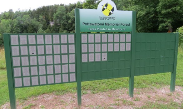 Pottawtomi Memorial Forest