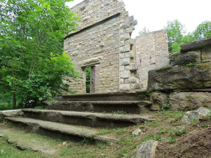 Spirit Rock McNeil Estate Front Steps