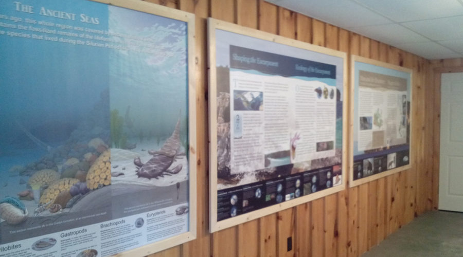 Inglis Falls Conservation Area – Escarpment Discovery Centre has a new look