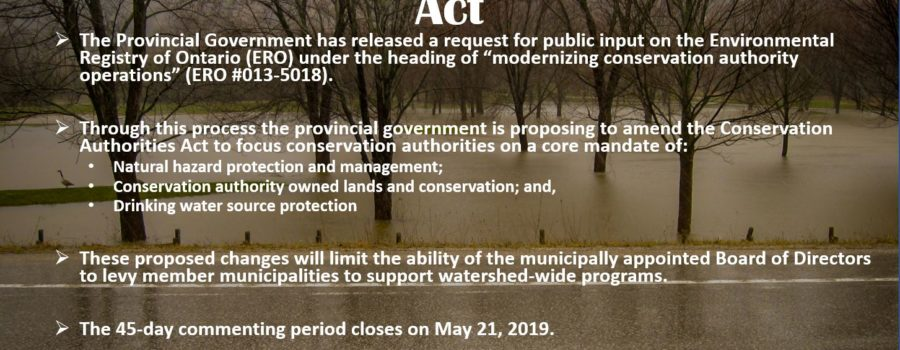 Provincial Funding & CA Act Changes